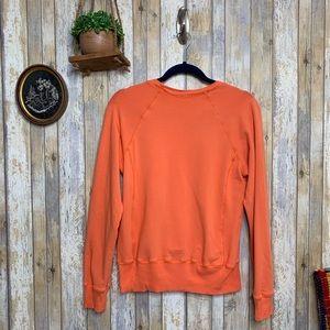 Splendid Orange Crew Neck Sweater